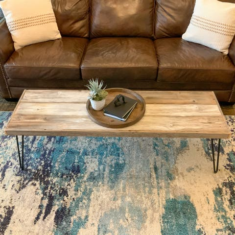 Colt Reclaimed Wood Coffee Table Large