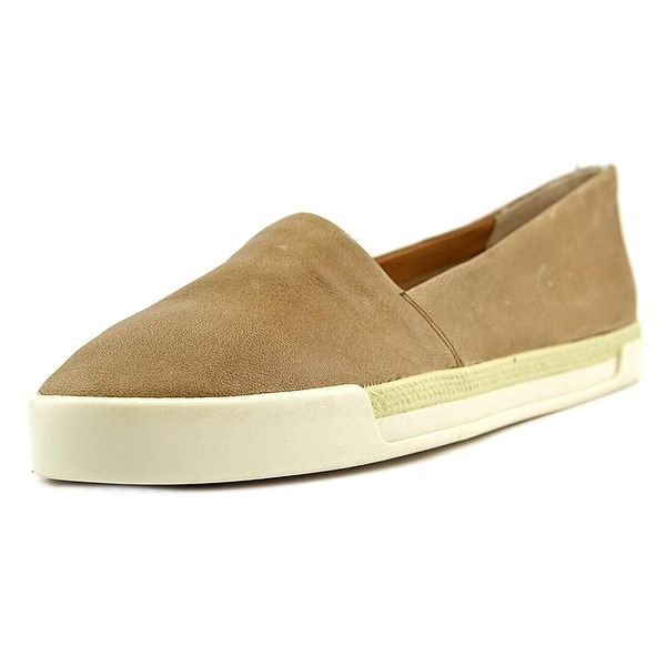 Lucky Brand Womens Marza Leather Low Top Slip On Fashion Sneakers