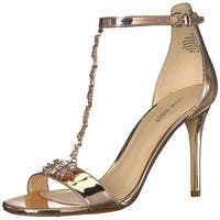 Nine West Women's MIMOSINA Synthetic Sandal,