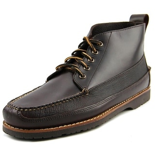 Bass Scott Round Toe Leather Boot
