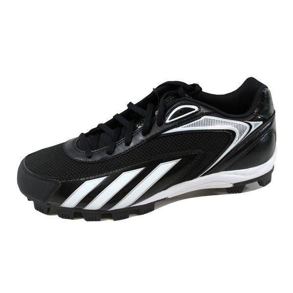 Adidas Men's HotStreak Low Black/White-Metallic Silver G47418