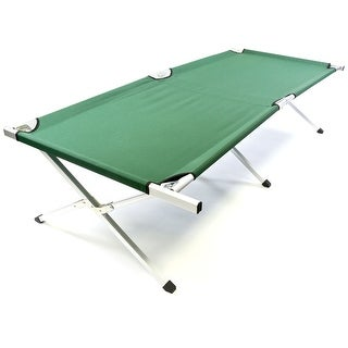 Chinook Camp Cot, Easy Set up & Carry and Store Bag 28""