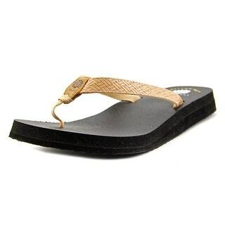 Yellow Box Bindy Women Open Toe Canvas Flip Flop Sandal