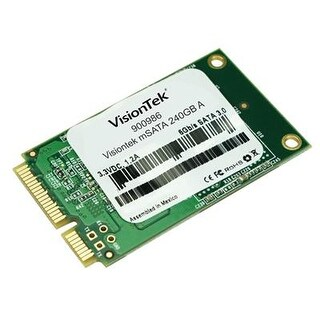 Visiontek 3D Mlc Msata 240Gb Ssd 550 Mb/S Read And 190 Mb/S Write - 900986