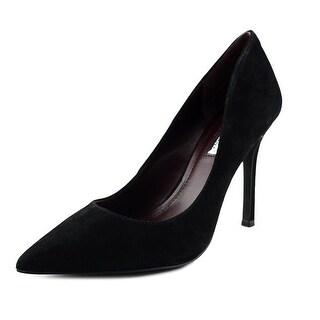 BCBGeneration Treasure Women Pointed Toe Suede Black Heels