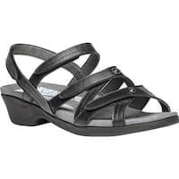 Propet Women's Lizzette Sandal Black Leather