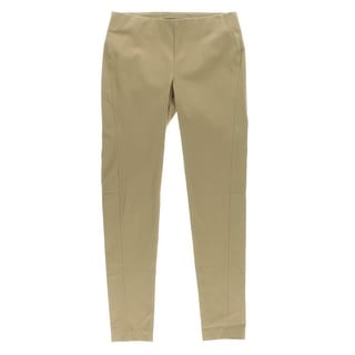 Lauren Ralph Lauren Womens Twill Pull On Skinny Pants