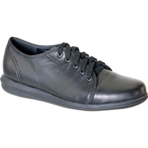 David Tate Women's Siren Sneaker Black Lambskin