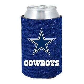 Dallas Cowboys Kaddy Can Holder - Glitter