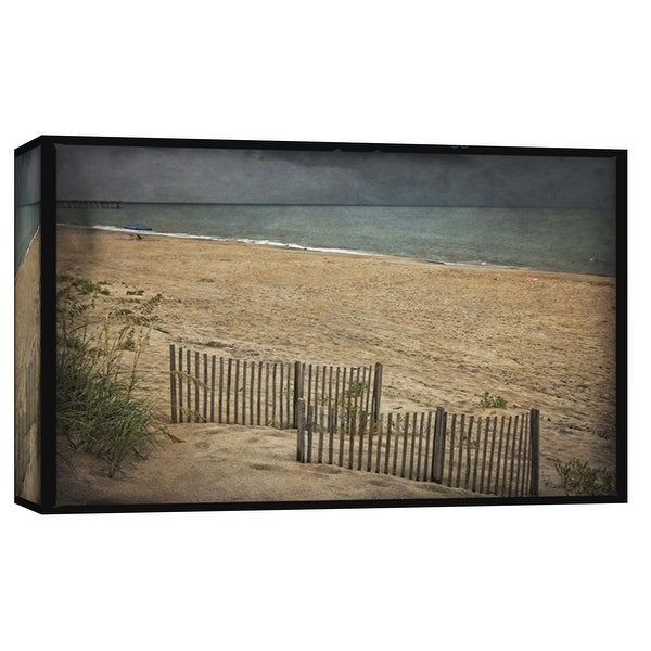 """PTM Images 9-103780 PTM Canvas Collection 8"""" x 10"""" - """"Beach At Dusk"""" Giclee Beaches and Waves Art Print on Canvas"""