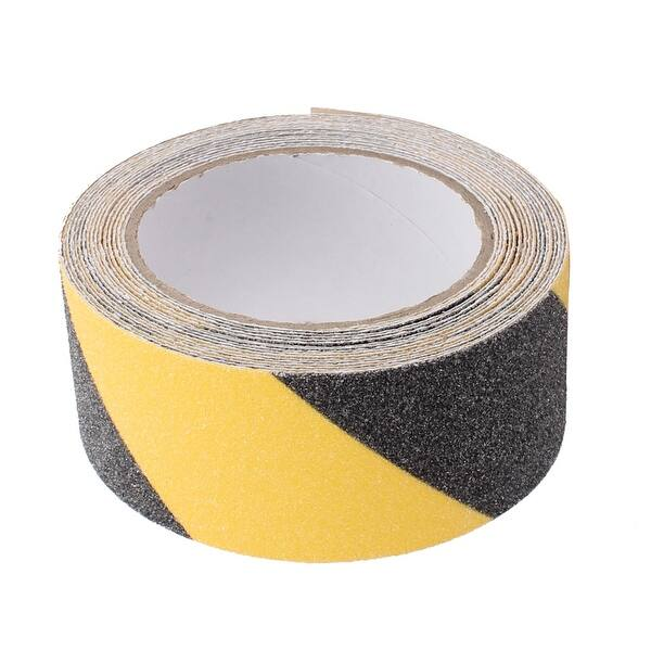 Tacky Stick Anti Slip Yellow and Black Safety Tape Extra Strength High Tractio