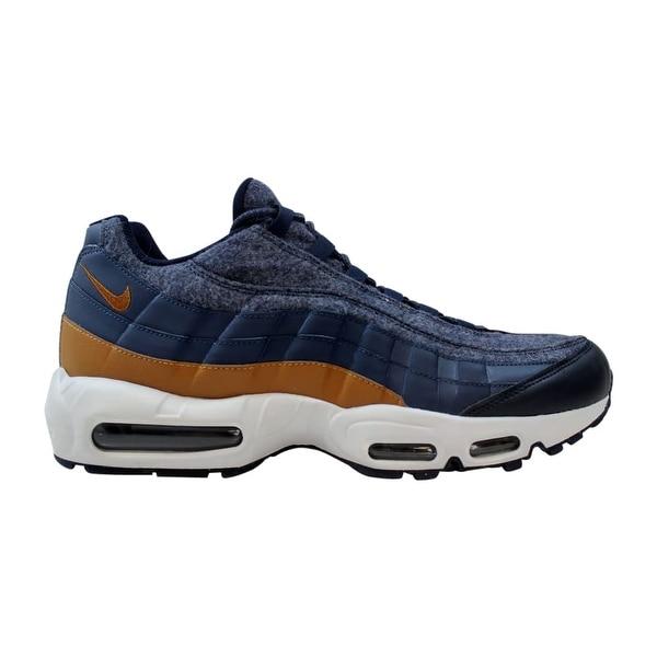 reputable site fd6eb 5cc53 ... Men s Athletic Shoes. Nike Air Max 95 Premium Thunder Blue Ale Brown  Men  x27 s 538416