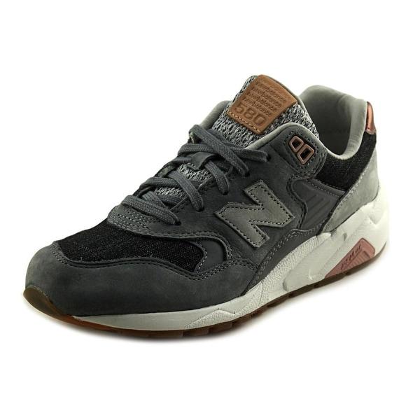 New Balance MRT580 Round Toe Suede Running Shoe