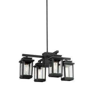 "Artcraft Lighting AC8198 Freemont 4 Light 23"" Wide Outdoor Chandelier"