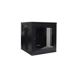 Tripp Lite CW5120B Tripp Lite SRW12USG 12U Wall Mount Rack Enclosure Server Cabinet Plexiglas Door/Sides, Hinged