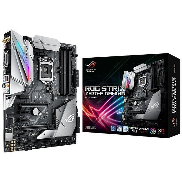 Asus - Motherboards Strix Z370-E Gaming Intel Atx Motherboard With Usb 3.1