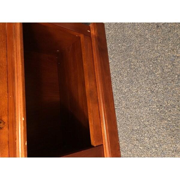 Shop Wood And Glass Door Locking Eight Gun Display Cabinet Free