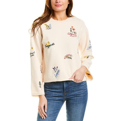 Madewell Embroidered Sweatshirt