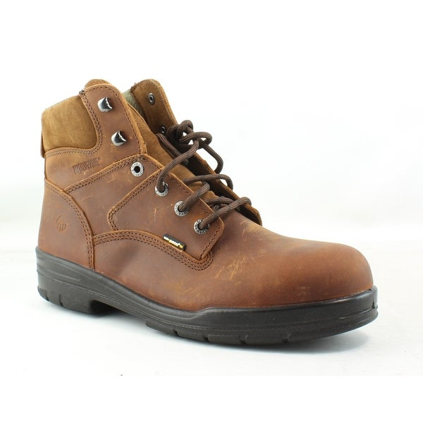 5ed9f6ca80c Shop Wolverine Mens Durashocks Brown Work & Safety Boots Size 12 (E ...