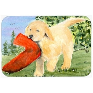 Carolines Treasures SS8762CMT 20 x 30 in. Golden Retriever Kitchen Or Bath Mat