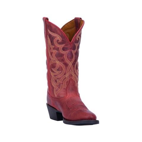 "Laredo Western Boots Womens Maddie Round Toe 12"" Shaft"