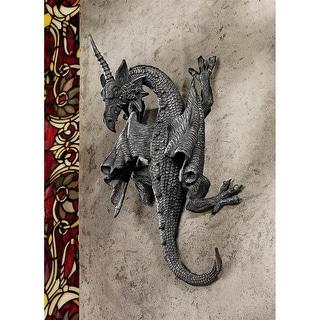 Design Toscano Halloween  Horned Dragon of Devonshire Wall Sculpture
