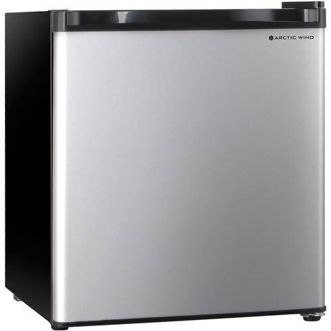 Arctic Wind 1.7-Cu. Ft. Single Door Compact Refrigerator, Silver