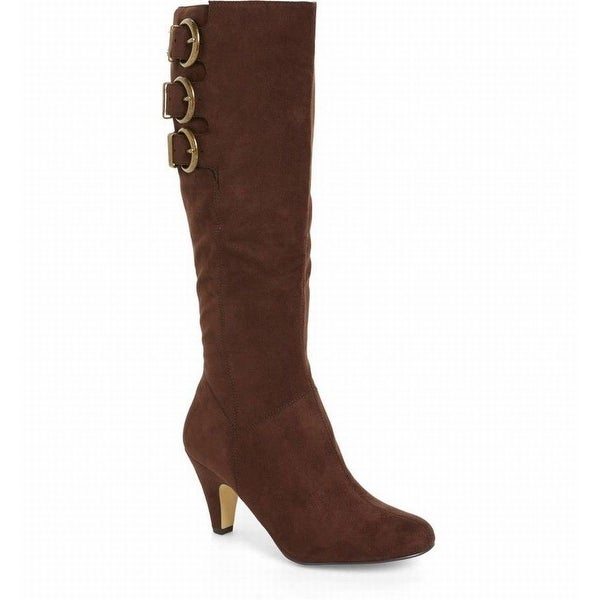 Bella Vita NEW Brown Transit II Shoes Size 9W Knee-High Boots