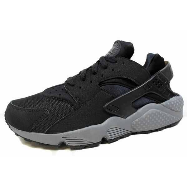 Nike Men's Air Huarache Black/Black-Dark Grey 318429-010
