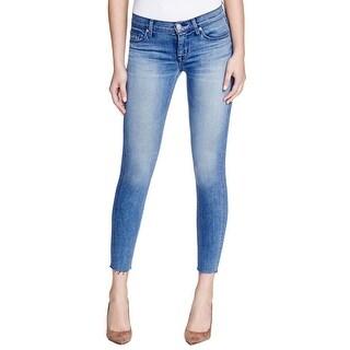 Hudson Womens Krista Ankle Jeans Super Skinny Denim