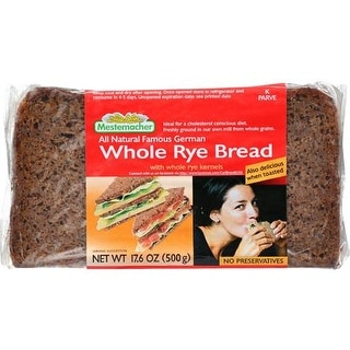 Mestemacher - Whole Rye Bread ( 3 - 17.6 OZ)