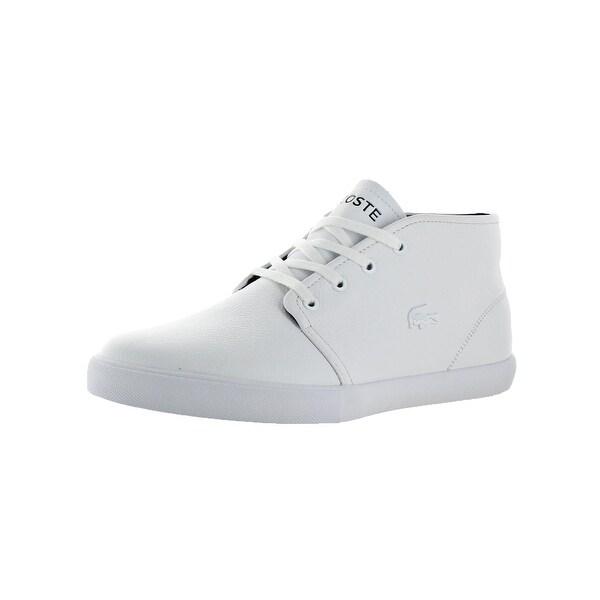 a80a8edfab307 Shop Lacoste Mens Asparta 318 Fashion Sneakers Ortholite Mid-Top ...