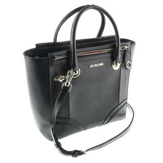 Moschino JC4234 0000 Black Satchel/Shoulder Bag