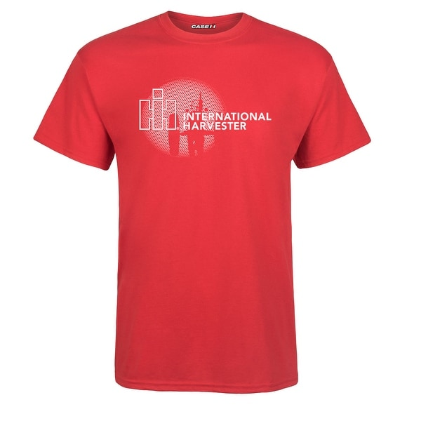 International Harvester Logo >> Shop Ih Logo Line Case Ih International Harvester Adult Short