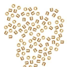 14K Gold Filled Crimp Beads 1 x 1mm (50)