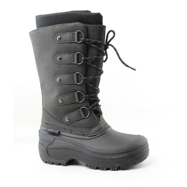 Tundra Womens Tatiana Black Snow Boots Size 5