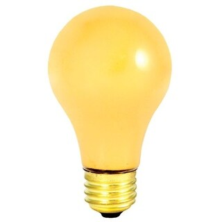 Bulbrite 103100 Pack of (6) 100 Watt Dimmable A19 Shaped Medium (E26) Base Incandescent Bulbs