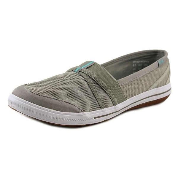 Keds Summer Women Round Toe Synthetic Gray Sneakers