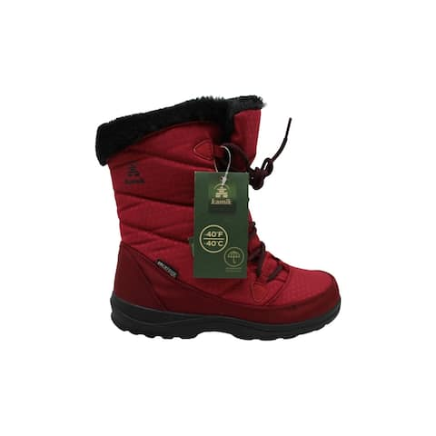 Kamik Women's Shoes Polarjoy Closed Toe Ankle Cold Weather Boots - 7