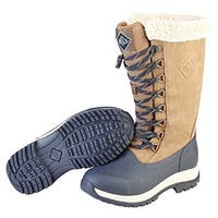 Muck Boot's Womens Arctic Apres Lace Tall Boots w/ Fleece Lining - Size 5