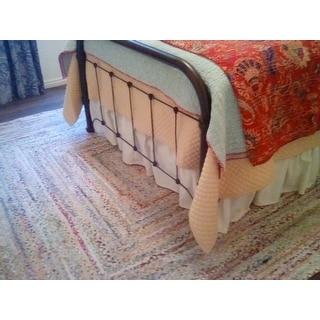 SAFAVIEH Georgine Handmade Braided Bohemian Cotton Rug