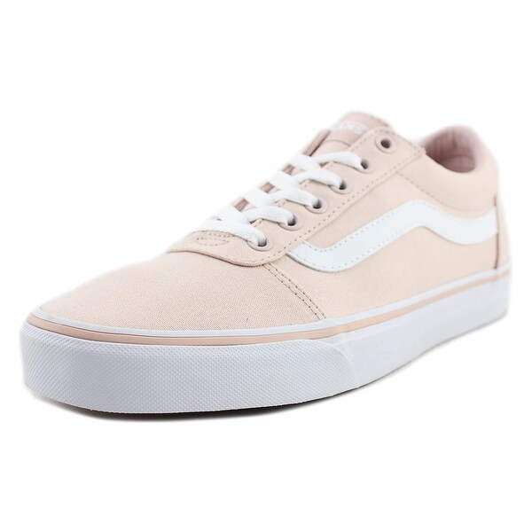 507e8206a0 Vans Ward Women Round Toe Canvas Pink Skate Shoe