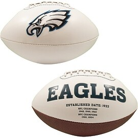 "Philadelphia Eagles Embroidered Logo ""Signature Series"" Football"