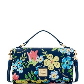 Dooney & Bourke Flowers Mimi Crossbody (Introduced by Dooney & Bourke at $198 in Sep 2016) - Midnight Blue