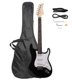 "Link to 39.37"" Rosewood Fingerboard Electric Guitar Black 5 Colors Similar Items in Guitars & Amplifiers"