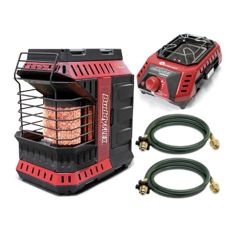 Mr. Heater MH11BFLEX Portable Propane Heater with Buddy FLEX Cooker