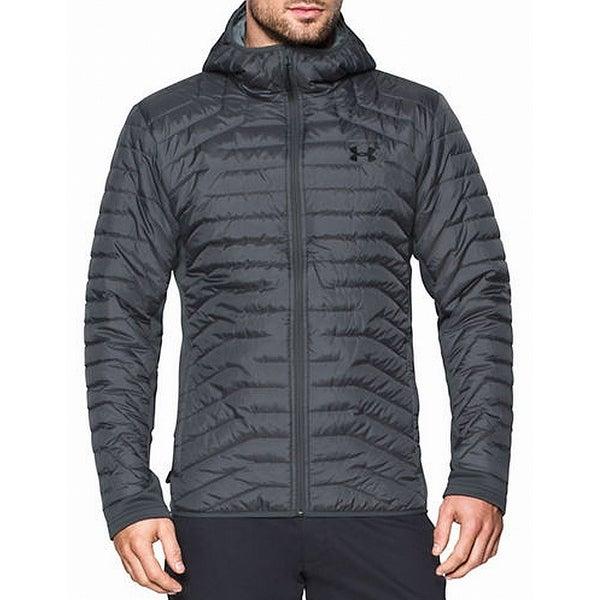 mens black under armour jacket