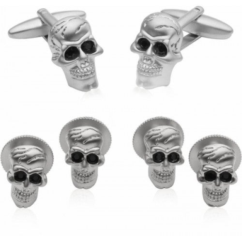 Skull Formal Set Cufflinks and Studs