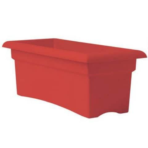 "Fiskars 57026C Veranda Rectangular Planter Box, 26"""