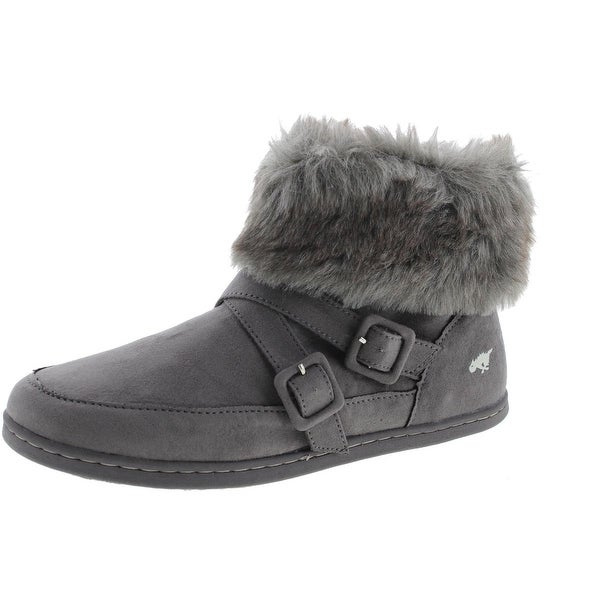 Rocket Dog Womens Halifax Coast Little Monster Ankle Boots Faux Suede